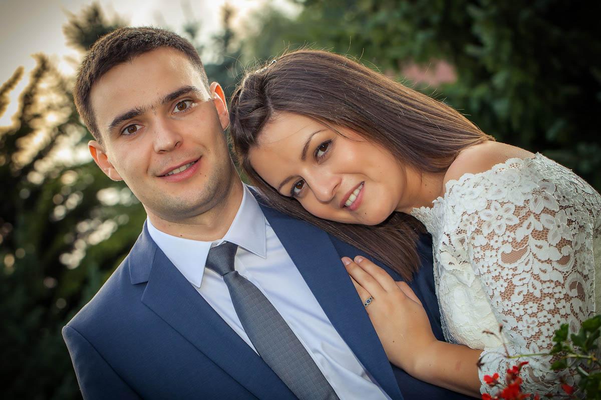 sesja plenerowa dla nowożeńców Kamila i Witalij